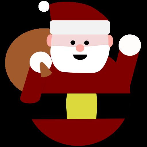 santa christmas catch
